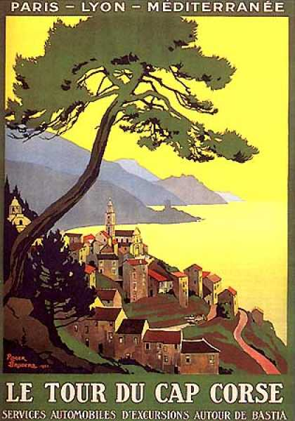 Le Tour du Cap Corse by Roger Broders (1923)
