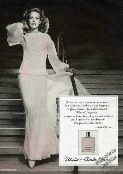 Ultima Fragrance By Charles Revson (1972)