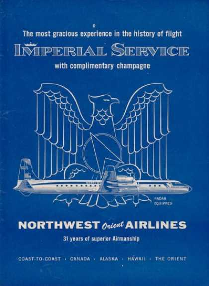 Northwest Orient Airlines Imperial Service (1957)