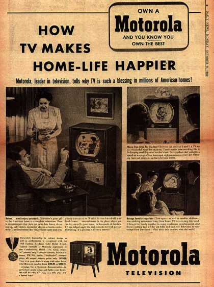 Motorola's Television – How TV Makes Home-Life Happier (1950)