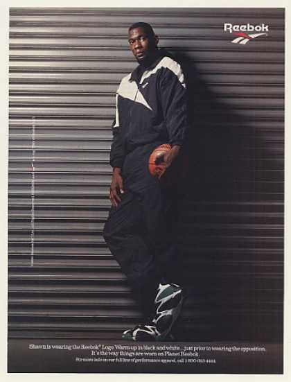 Shawn Kemp Reebok Photo (1995)