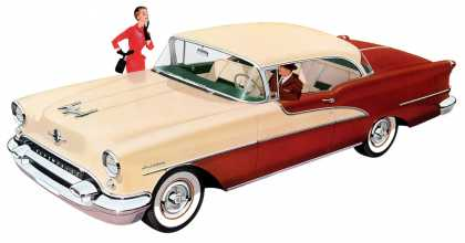 Olds 98 DeLuxe Holiday Coupe (1955)
