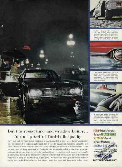 Lincoln Continental Photo Ford Weather-proof (1963)