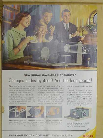 Eastman Kodak Co. Changes slides by itself. (1961)