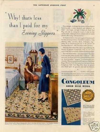 Congoleum Rugs Color (1931)