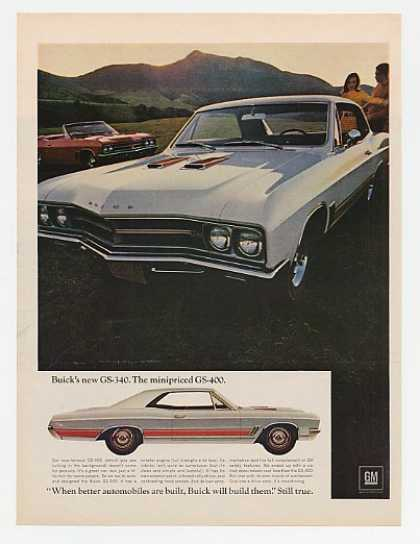 Buick GS-340 & GS-400 Convertible (1967)