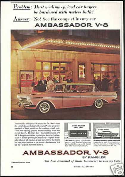 Rambler Ambassador V-8 Photo Vintage (1960)