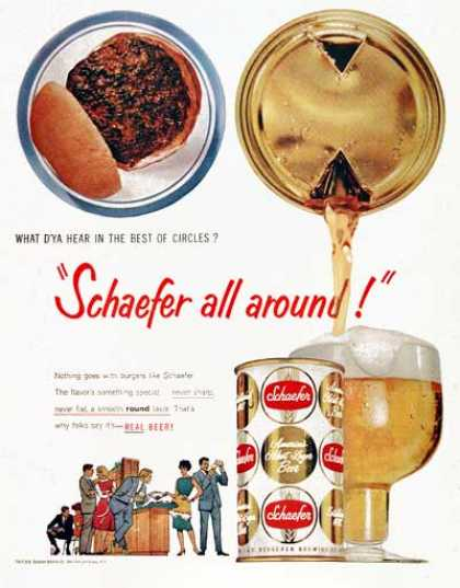 Schaefer Beer – Schaefer all around (1959)