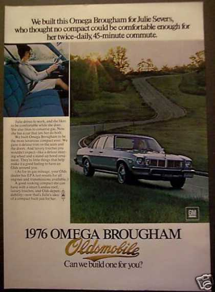 Gm Omega Brougham Oldsmobile Julie Severs Car (1975)