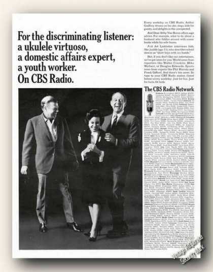 Arthur Godfrey/dear Abby/art Linkletter Cbs (1966)