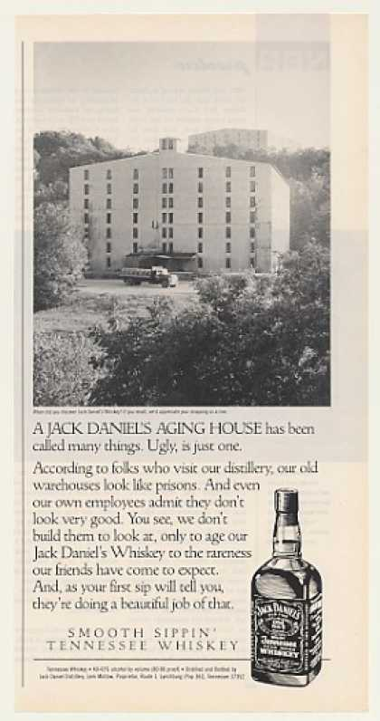 Jack Daniel's Whiskey Aging House Photo (1989)