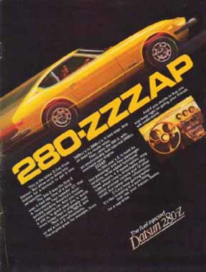 Datsun 280-Z Car – Gold 280-ZZZAP (1981)
