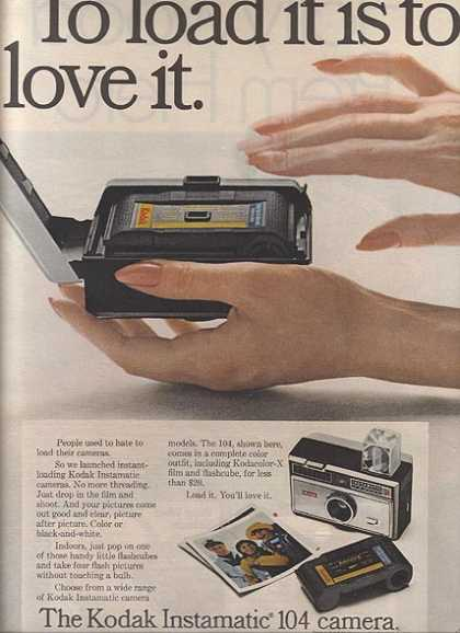 Kodak's easy it is to load (1967)