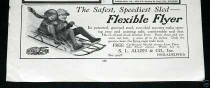 "Flexible Flyer ""Speediest Sled"" (1919)"