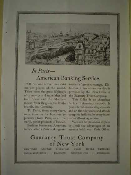 Guaranty trust Co of New York (1920)