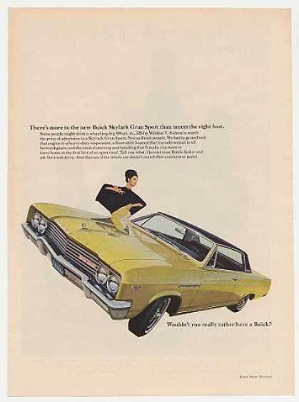 Buick Skylark Gran Sport More Than Meets Foot (1965)