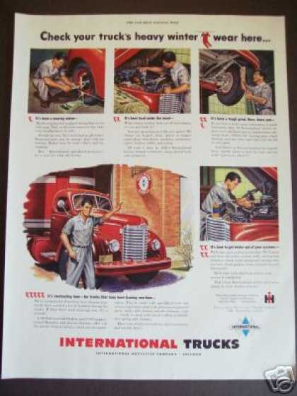 International Heavy Truck Three Diamond Service (1949)