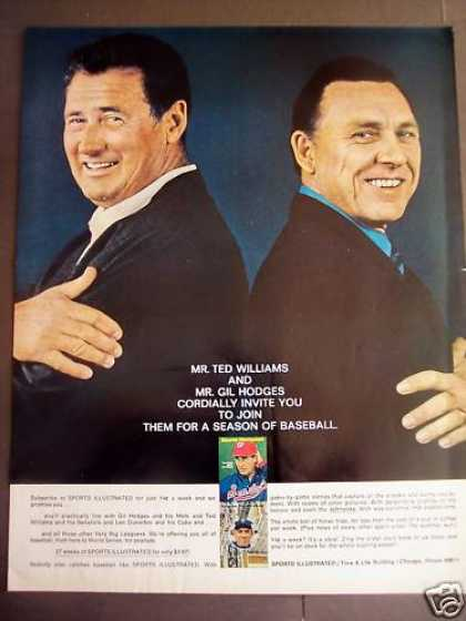 Ted Williams Gil Hodges Sports (1970)