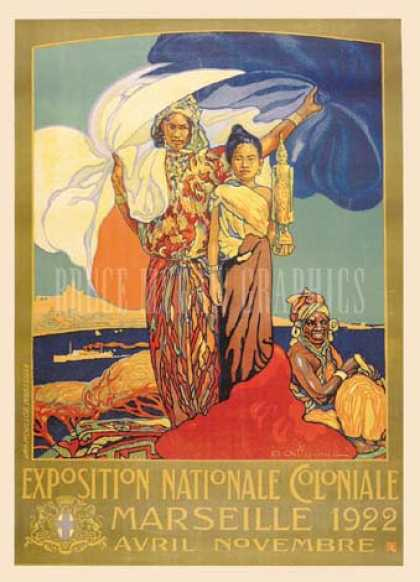 Exposition Nationale Coloniale by D. Dellepianne (1922)