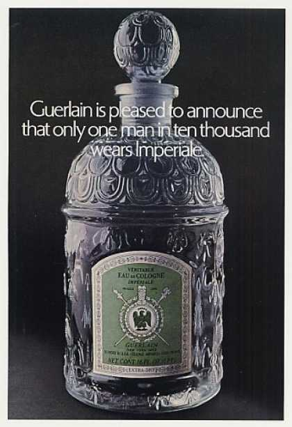 Guerlain Imperiale Cologne Large Bottle Photo (1970)