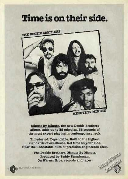 "The Doobie Brothers ""Minute By Minute"" Music (1979)"