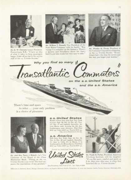 Ss United States Cruise Ship (1955)