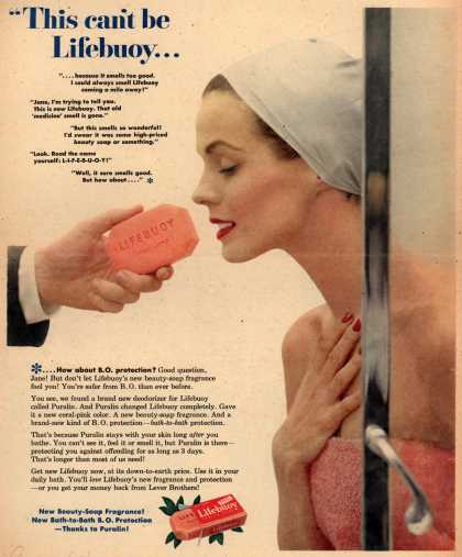 Lever Brothers Ltd.'s Lifebuoy Health Soap – This can't be Lifebuoy... (1953)