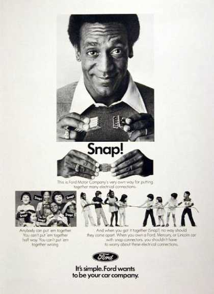 Ford Electrical – Bill Cosby (1977)