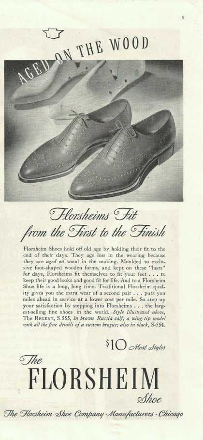 Florsheim Mens Dress Shoes (1938)