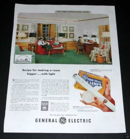 General Electric Lighting (1951)
