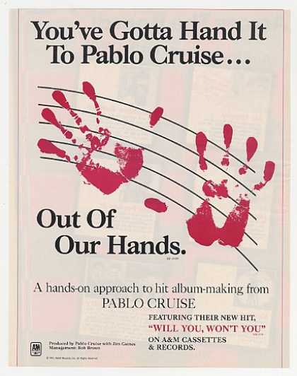Pablo Cruise Out Of Our Hands Album Promo (1983)