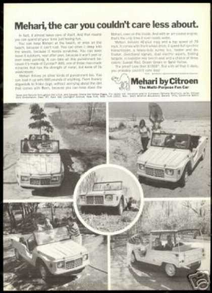 Citroen Mehari Fun Car 5 Photo Views Vintage (1969)