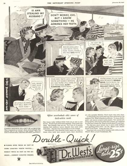 Western Company's Dr. West's Tooth Paste – Double-Quick (1935)