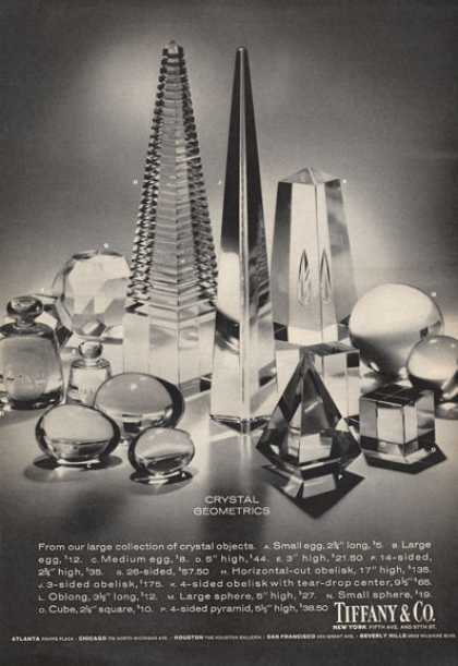 Tiffany Crystal Geometrics Photo Print (1971)
