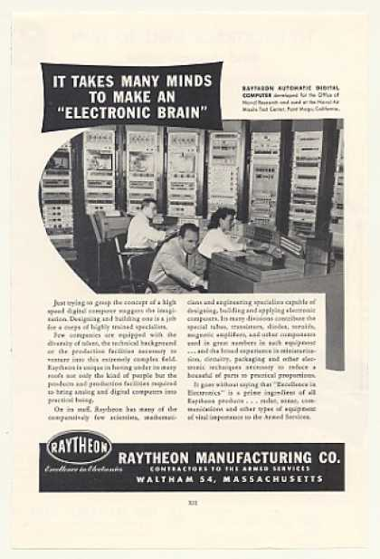 Raytheon Automatic Digital Computer Naval (1953)