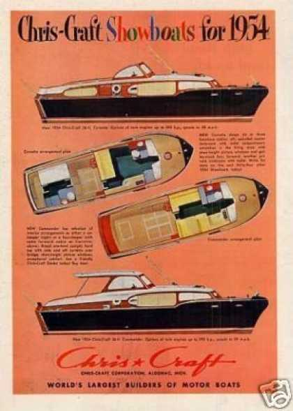 Chris-craft Boats (1954)