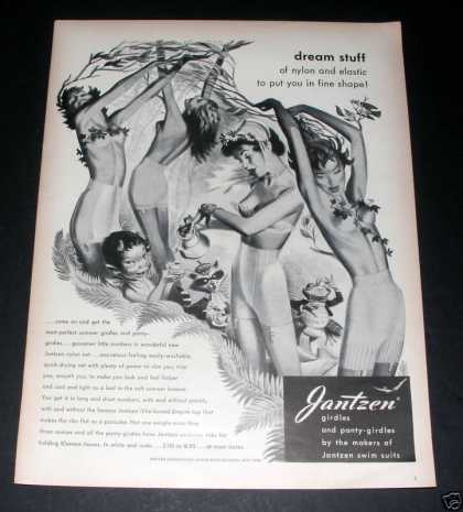 Jantzen Panty Girdles, Pin-up, Exc (1949)