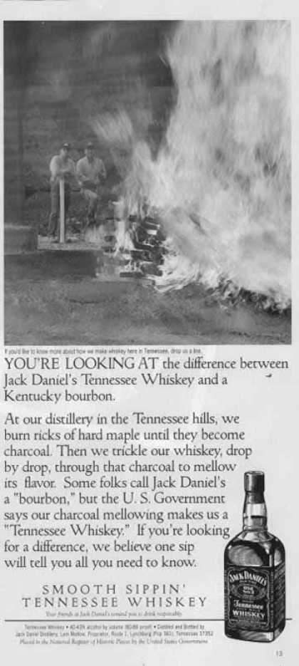 Jack Daniel's – Difference Between Them and Kentucky Bourbon (1997)