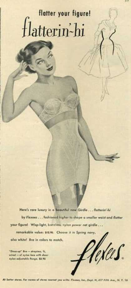 Flexees Women's Undergarmet Girdle (1952)