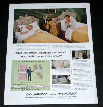 Simmons Beautyrest (1949)