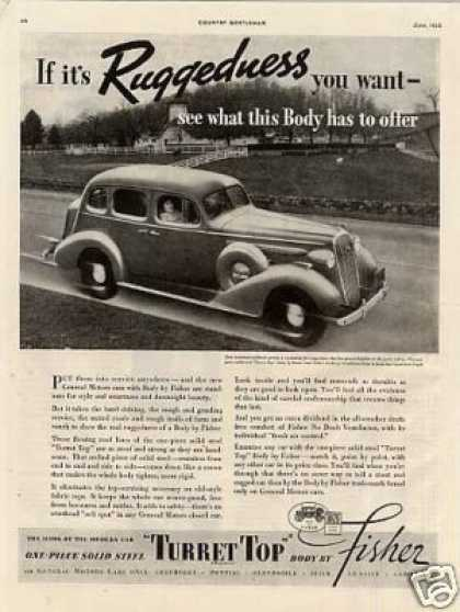 Body By Fisher Buick Car (1936)