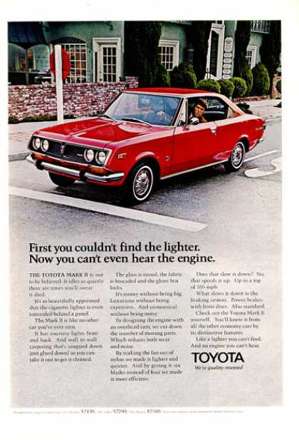 Toyota Mark Ii Sedan Print (1971)