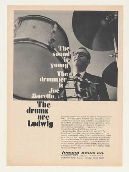 Joe Morello Ludwig Drums Photo (1968)