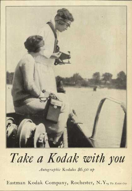 Kodak&#8217;s Autographic cameras &#8211; Take a Kodak with you