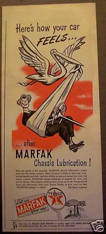 Marfak Chassis Lube for Cars Texaco (1945)