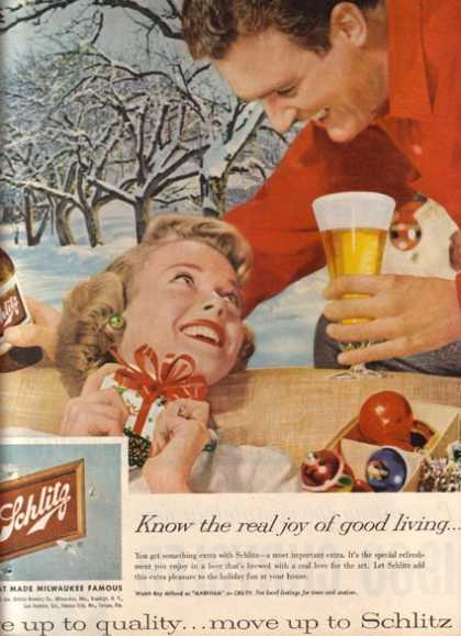 """Know the real joy of good living"" (1959)"