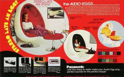 Panasonic Audio Eggs