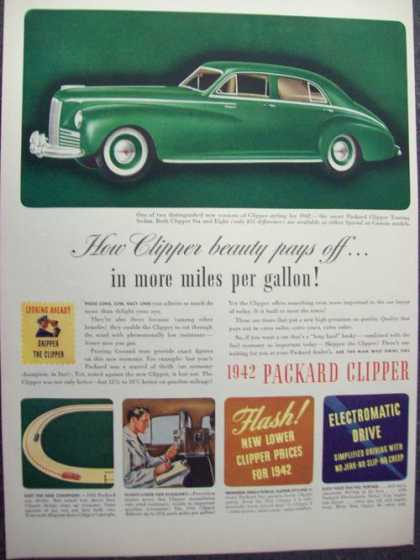 1942 Packard Green Clipper Car (1941)
