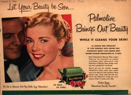 Palmolive Company's Palmolive Soap – Let Your Beauty be Seen...Palmolive Brings Out Beauty (1951)