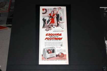 Esquire, Boot Footman for Xmas (1949)